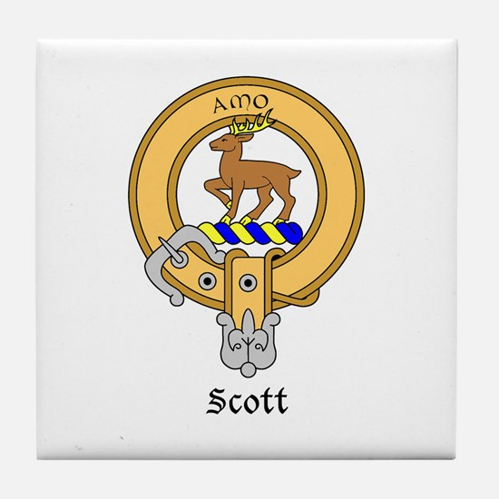 Scott Tile Coaster
