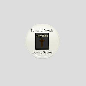 """Powerful Words"" Mini Button"
