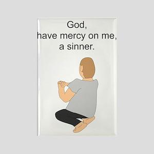 """God, have Mercy"" Rectangle Magnet"