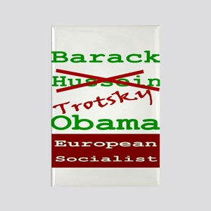 Barack Trotsky Obama Rectangle Magnet