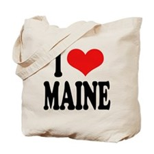 I Love Maine Tote Bag