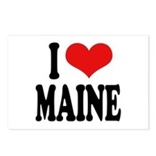 I Love Maine Postcards (Package of 8)
