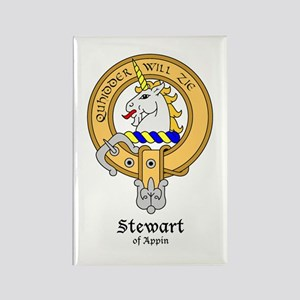 Stewart of Appin Rectangle Magnet