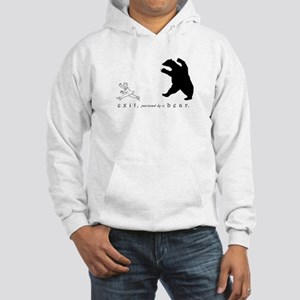 Exit, Pursued By A Bear - Hooded Sweatshirt