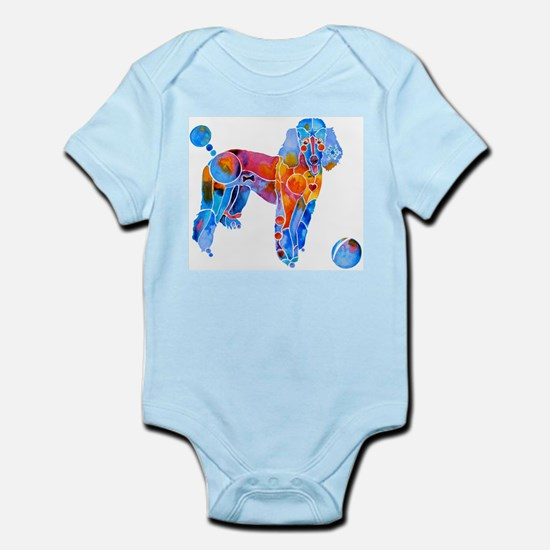 French Poodle Infant Bodysuit