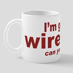 will work for bandwidth Mug