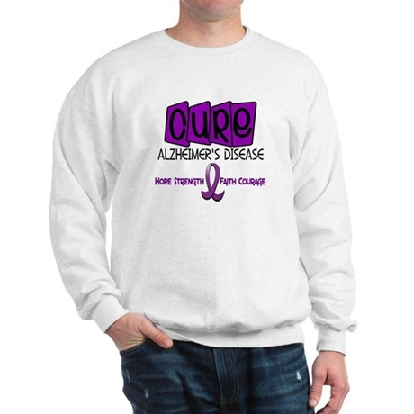 CURE Alzheimer's Disease 1 Sweatshirt