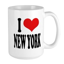 I * New York Large Mug