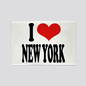 I * New York Rectangle Magnet