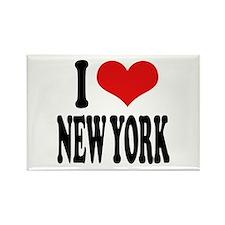 I * New York Rectangle Magnet
