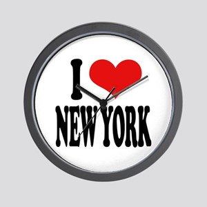 I * New York Wall Clock