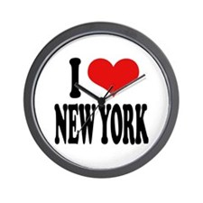 I * New York Wall Clock