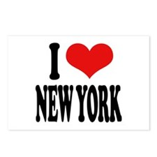 I * New York Postcards (Package of 8)