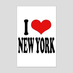 I * New York Mini Poster Print