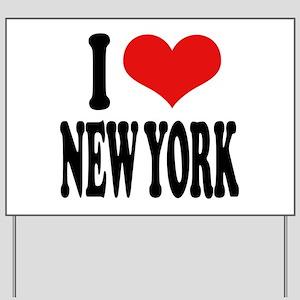I * New York Yard Sign