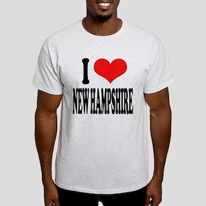 I Love New Hampshire Light T-Shirt