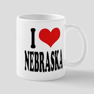 I Love Nebraska Mug