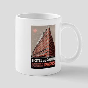 Hotel de Paris France Mug