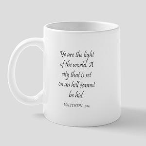 MATTHEW  5:14 Mug