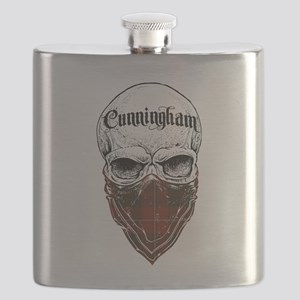 Cunningham Tartan Bandit Flask