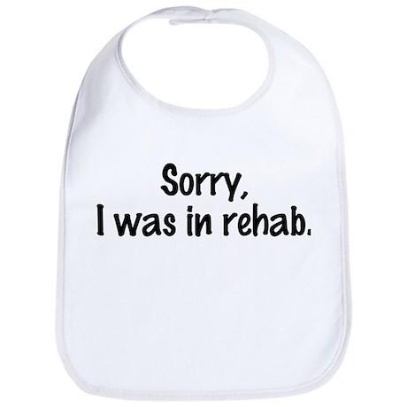 Kate Moss Sorry I Was In Rehab Bib