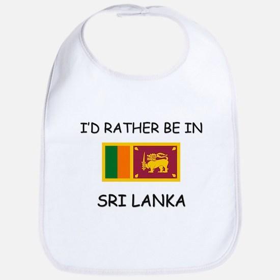 I'd rather be in Sri Lanka Bib
