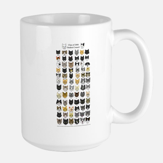 Great Kitty Rescue Large Mug
