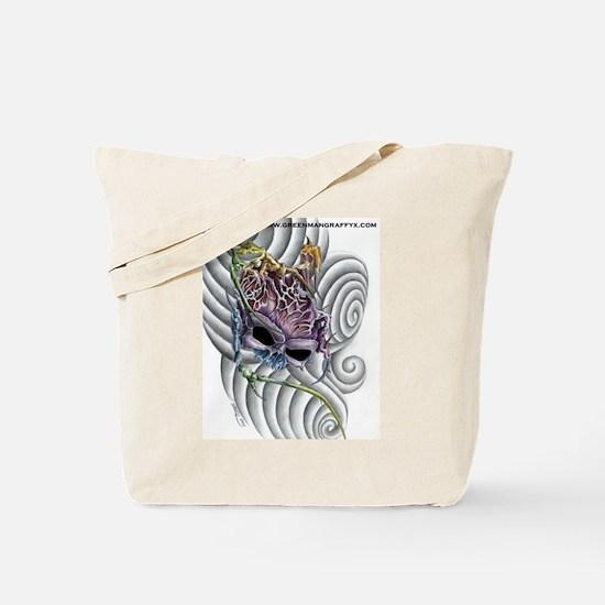 SkullBrain Tote Bag