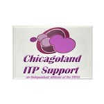 Chicagoland ITP Support rectangle magnet