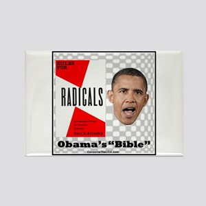 """""""Obama's Bible"""" Rectangle Magnet"""