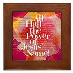 Hymn Framed Tile