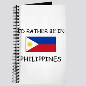 I'd rather be in Philippines Journal