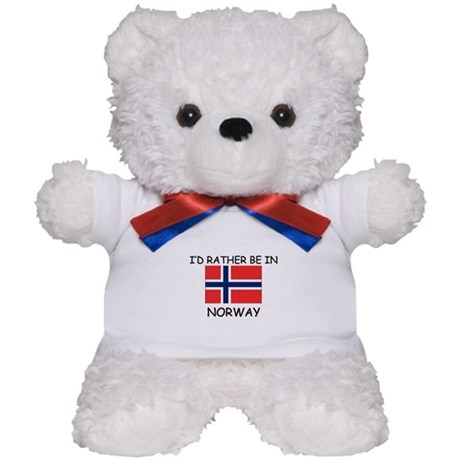 I'd rather be in Norway Teddy Bear