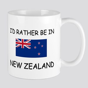 I'd rather be in New Zealand Mug
