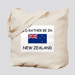 I'd rather be in New Zealand Tote Bag