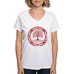 English Roots Women's V-Neck T-Shirt
