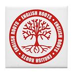 English Roots Tile Coaster