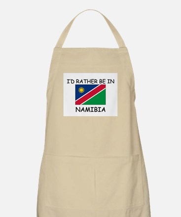 I'd rather be in Namibia BBQ Apron