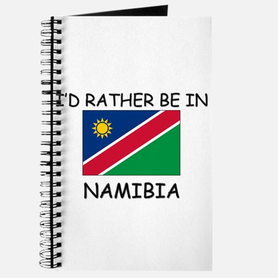 I'd rather be in Namibia Journal