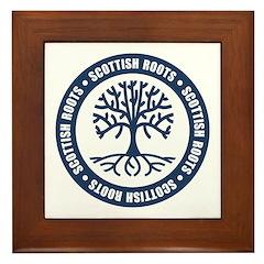 Scottish Roots Framed Tile
