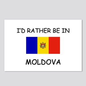 I'd rather be in Moldova Postcards (Package of 8)