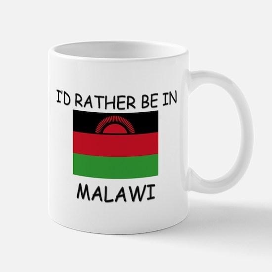 I'd rather be in Malawi Mug