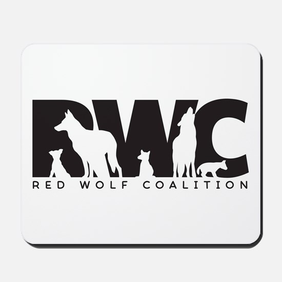 Red Wolf Coalition Logo Mousepad