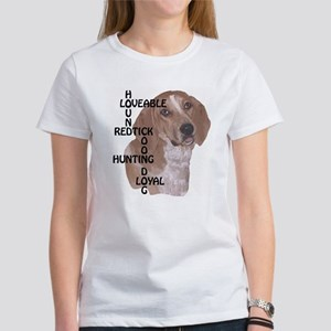 redtick hound crossword Women's T-Shirt