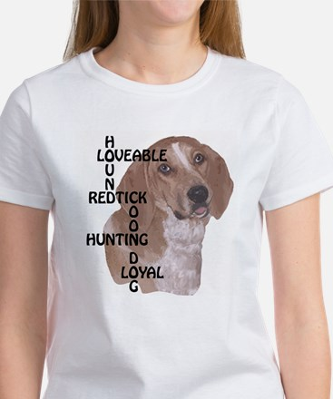redtick hound crossword Women's T-Shirt