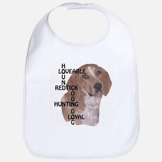 redtick hound crossword Bib