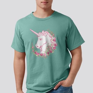 Unicorn and Roses Mens Comfort Colors® Shirt