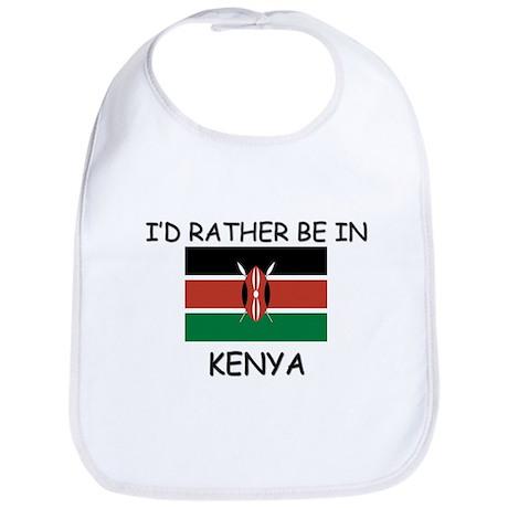 I'd rather be in Kenya Bib