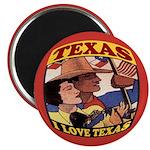 J'aime Texas Magnet