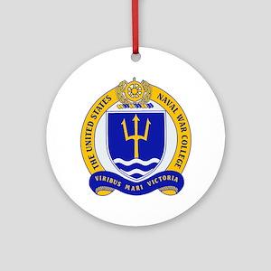 US Naval War College Ornament (Round)